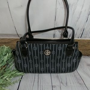 black logo Giani Bernini satchel